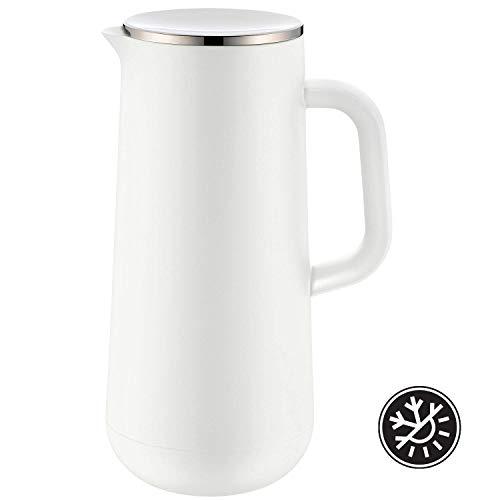 WMF Isolierkanne Thermoskanne Impulse, 1,0 l, für Kaffee oder Tee Drehverschluss hält Getränke 24h kalt und...