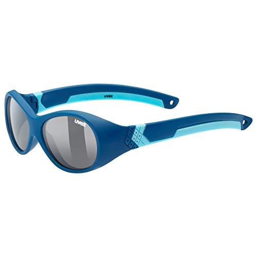 uvex Unisex Jugend, sportstyle 510 Sonnenbrille, darkblue/smoke, one size