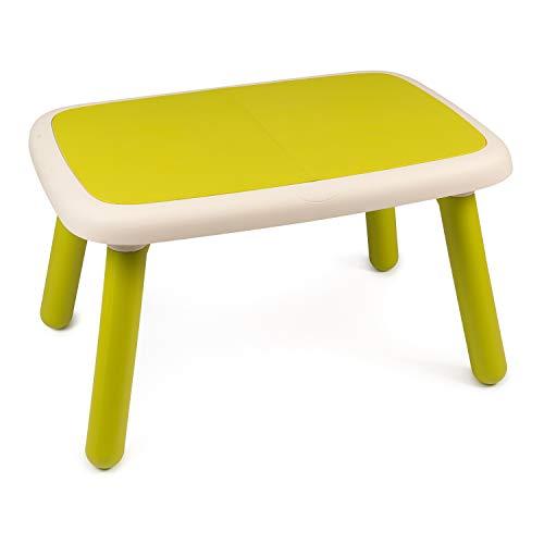 Smoby - Kid Tisch Grün – Design Kindertisch für Kinder ab 18 Monaten, für Innen und Außen, Kunststoff,...