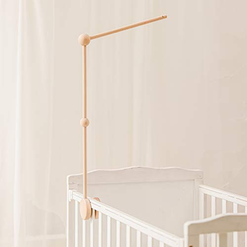Mamimami Home 1pc Mobile Halterung Holz Mobile Baby Spieluhr Baby Mobile Gestell Mobile Wickeltisch...