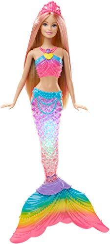 Mattel Barbie Puppe: Meerjungfrau Dreamtopia Regenbogenlicht