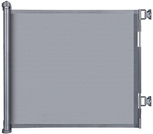LSZE Treppenschutzgitter Ausziehbar Türschutzgitter 0-150 cm Einziehbares Tür- und Treppengitter für Babys...