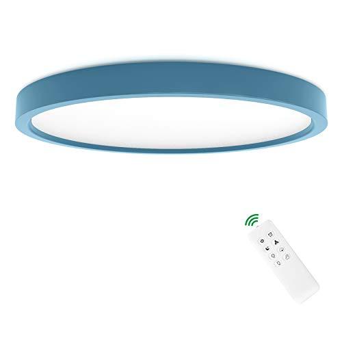 Anten Led Deckenlampe Leo | 24W dimmbar mit Fernbedienung | Deckenleuchte mit Nachtlicht und- Memory Funktion...