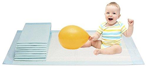 Vidima Wickelunterlage 60 x 60 cm   150 Stück   6 lagige saugstarke Babyunterlage aus Zellstoff  ...