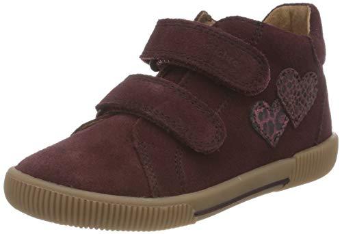 Richter Kinderschuhe Jungen Mädchen Vali 2551-8112 Sneaker, 7611burgundy/plum, 26 EU