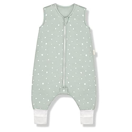 Sleeping Rebels® Baby Schlafsack mit Füßen Sommer - Sommerschlafsack mit Beinen Bio-Baumwolle -...