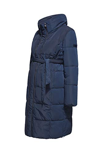 ESPRIT Maternity Damen Jacket Umstandsjacke, Blau (Night Blue 486), 40
