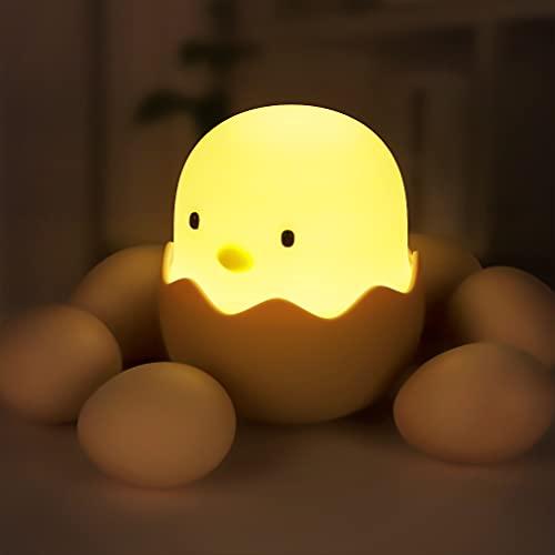 Nachtlicht Kind, LED Nachtlampe Baby Nachtleuchte Touch Lampe Kinderzimmer mit Touch Schalter für Babyzimmer,...