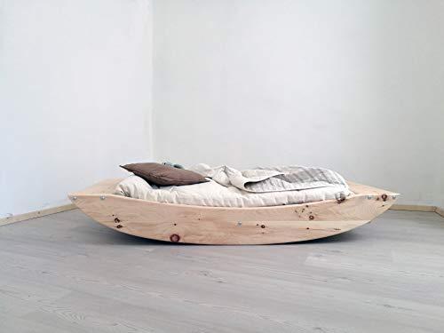 BOBIDÌ Montessori-Kinderbett aus Zirbenholz