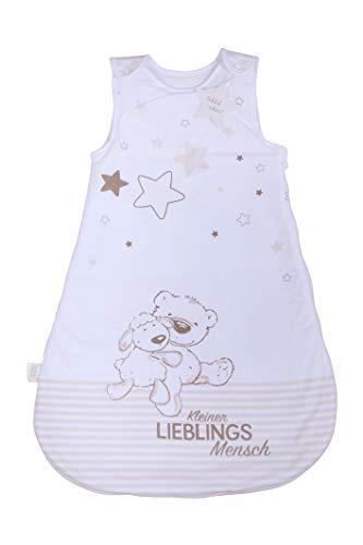 Herding Baby Best Baby-Schlafsack, Kleiner Lieblingsmensch Motiv, 90 cm, Seitlich umlaufender Reißverschluss...