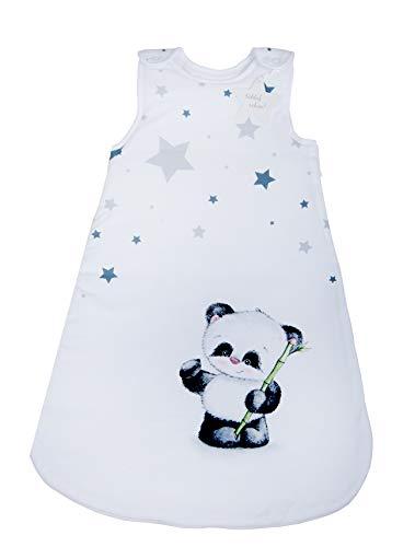 Herding Baby Best Baby-Schlafsack, Panda Motiv, 70 cm, Seitlich umlaufender Reißverschluss und Druckknöpfe,...