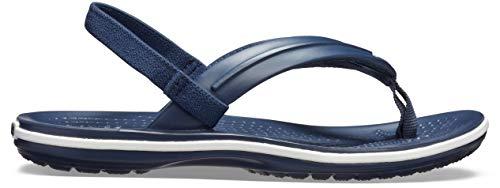 Crocs Unisex Kinder Crocband Strap Flip, Navy, 30-31