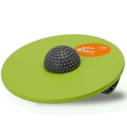 MFT Fun Disc I Balance Board aus hochwertigem Holz für Fitness,- Gleichgewichtstraining und Physiotherapie I...