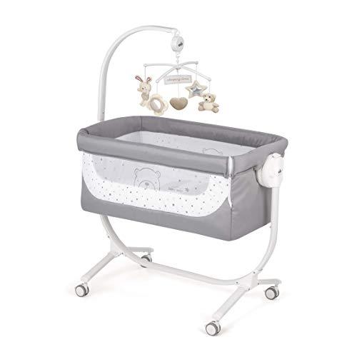 CAM 2 in 1 Beistellbett & Babywiege CULLAMI | höhenverstellbares Babybett | praktisch & schön| hochwertige...