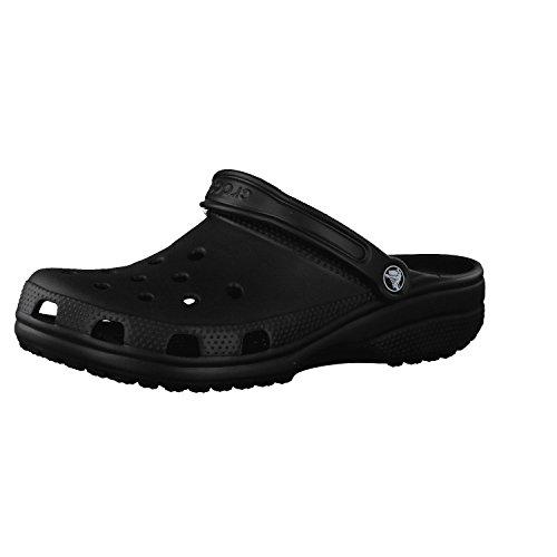 Crocs Unisex Classic Clog, Schwarz, 38 39 EU