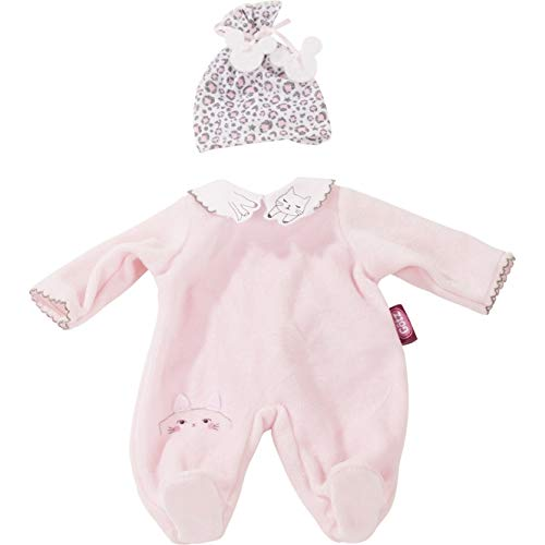 Götz 3402923 Babykombi Animals - Puppenbekleidung Gr. S - 2-teiliges Bekleidungs- und Zubehörset für...