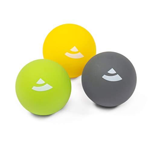 Bodhi Faszien Set: 3er Massageball Set   Flexibles Faszienball-Set zur Selbstmassage   Massagebälle für den...