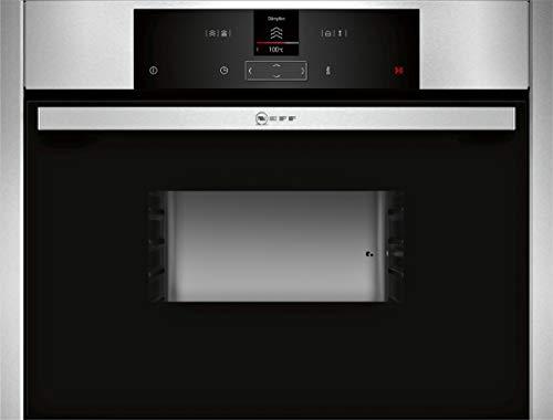 NEFF C15DR00N0 Einbau-Dampfgarer N70 / 45,5 x 59,6 x 54,8 cm (H x B x T) / 38l / Edelstahl / Dampfgarfunktion...