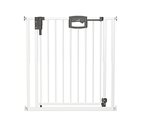 Geuther Türschutzgitter Easylock Plus - zum Klemmen Metall Passung: 80, 5 cm - 88, 5 cm