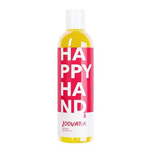 Loovara – erotisches Massageöl (250 ml) | pflegendes Liebes-Öl für das Vorspiel | als Partnermassage vor...
