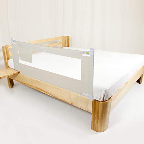 Bettgitter, 150/180/200cm Klappbares Bettgitter Verstellbare Bettschutzgitter Kinderbettgitter Babybettgitter...