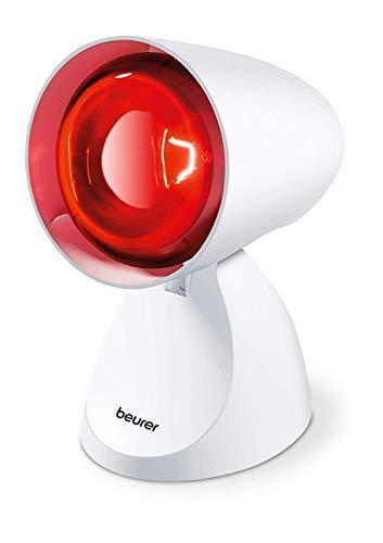 Beurer IL 11 Infrarotlampe, Medizinprodukt zur Anwendung bei Erkältung und Muskelverspannung, 5...