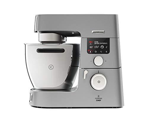 Kenwood Cooking Chef Gourmet KCC9060S Küchenmaschine (mit Kochfunktion, Induktionskochfeld von 20, 180°C, 24...