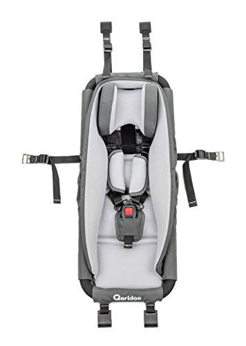 Qeridoo Hängematte mit Sicherheitsrahmen für Kinderanhänger oder Kinderwagen - hervorragende Alternative zu...