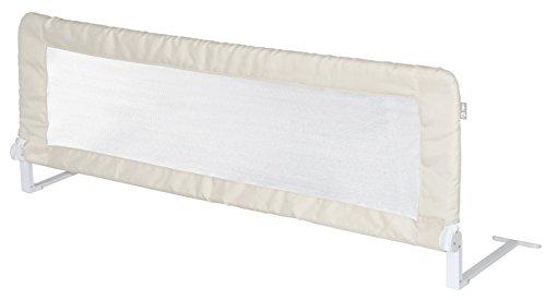 roba Bettschutzgitter 'Klipp-Klapp', klappbares Bettgitter für Babys & Kinder, Rausfallschutz 135 cm, beige