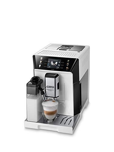 De'Longhi PrimaDonna Class ECAM 550.65.W Kaffeevollautomat mit LatteCrema Milchsystem, Cappuccino und Espresso...