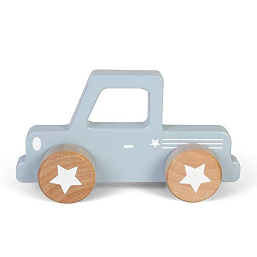 Little Dutch 4364 Holz Auto Pickup blau
