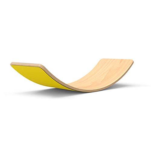 Kinder Balance Board Aus Holz Montessori Holzbrett Handgefertigtes Balancierbrett Wackelbrett Für Kinder Und...
