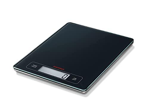 Soehnle Page Profi Digitalwaage für max. 15 kg, digitale Küchenwaage mit großer Wiegefläche und Tara,...