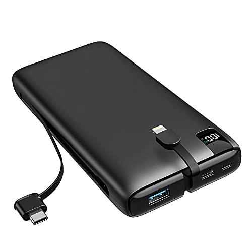 SOARAISE Powerbank 26800mAh Tragbares Ladegerät USB C PD 18W Schnellladen Externer Akku Pack mit Integrierten...