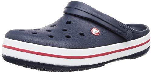 Crocs Unisex-Erwachsene Crocband Clogs, Navy, 37/38 EU