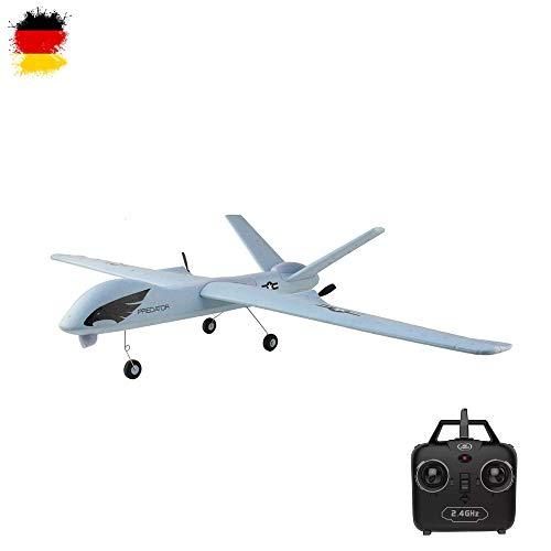 HSP Himoto 2.4GHz RC ferngesteuertes Mini Flugzeug Flieger, geeignet für Anfänger und Profis, Komplett-Set...