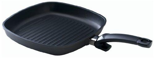 Fissler special grill / Grill-Pfanne (28 x 28 cm) beschichtete Bratpfanne, Aluminium-Steakpfanne,...