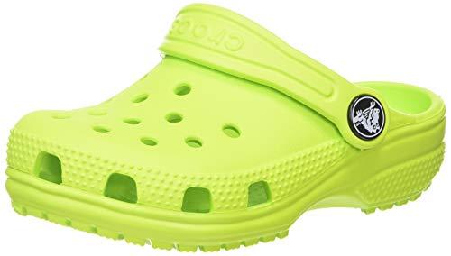 Crocs Unisex Kinder Classic K Clogs, Lime Punch, 20/21 EU