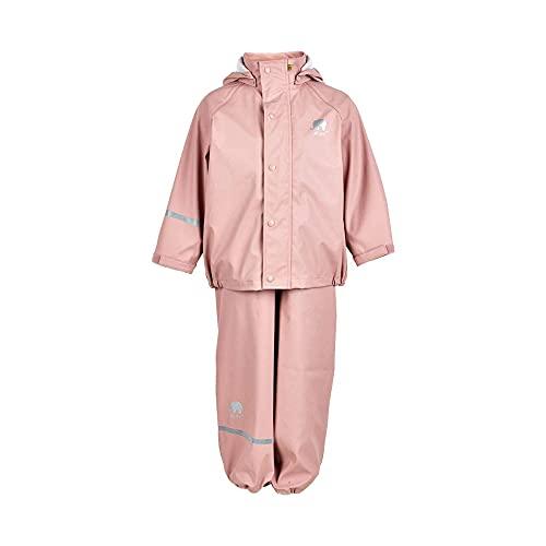 CeLaVi Mädchen CeLaVi zweiteiliger Regenanzug in vielen Farben Regenjacke,,per pack Rosa (Misty Rose...