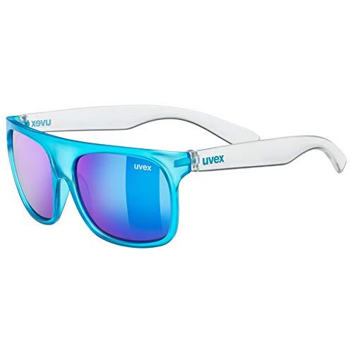 uvex Unisex Jugend, sportstyle 511 Sonnenbrille, blue transparent/blue, one size