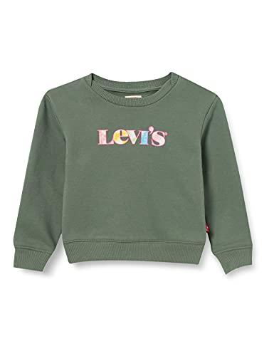 Levi's Kids LVG GRAPHIC CREW SWEATSHIRT C725 Sweatshirt - Mädchen Sea Spray 6 Jahre