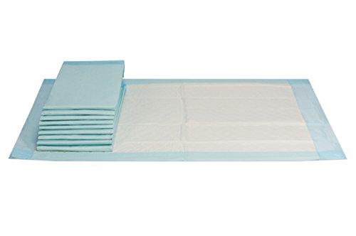 VIDIMA Inkontinenzunterlage 40 x 60 cm   100 Stück   12 lagige saugstarke Einmal Krankenunterlage aus...