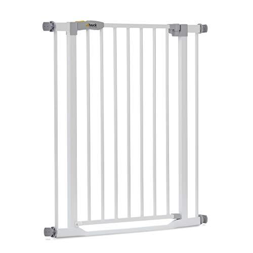 Hauck Türschutzgitter / Treppenschutzgitter für Kinder Clear Step Safety Gate / stolperfrei / ohne Bohren /...