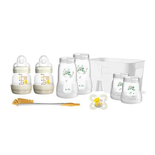 MAM Easy Start Babyflaschen Set für Neugeborene, Baby Erstausstattung mit Schnuller, Bürste, Korb & Flaschen...