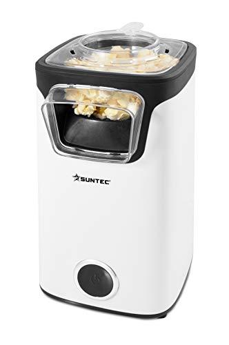 SUNTEC Heißluft Popcornmaschine POP-8618 Fat Free   Popcorn ohne Fett und Öl   Popcorn-Maschine für Zuhause...