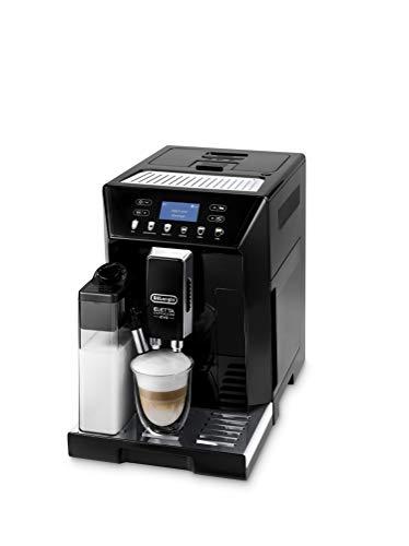De'Longhi Eletta Evo ECAM 46.860.B Kaffeevollautomat mit Milchsystem, Cappuccino und Espresso auf Knopfdruck,...