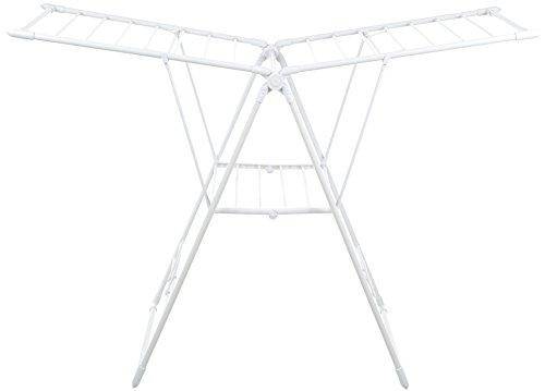AmazonBasics - Flügelwäscheständer, Weiß