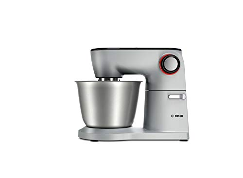 Bosch Hausgeräte MUM9D33S11 Optimum Küchenmaschine, Metall, 1300 Watt, 5.5 liters, platinum/silber