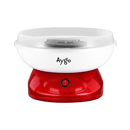 Aygo Zuckerwattemaschine für Zuhause, Retro-Design Candy Floss Maschine Set Mit Zuckerwatte Messlöffel, 500...