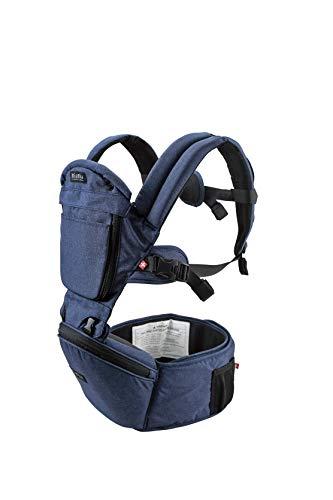MiaMily Hipster Plus 3D Babytrage, Ergonomische Babytragesystem und Baby-Tragetuch mit 6 unterstützenden...